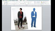 Create custom silhouettes - Speaking PowerPoint tip #2