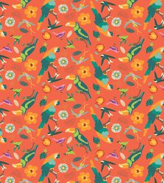 . Indian Summer, Pattern Illustration, Tropical, Painting, Behance, Illustrations, Ornaments, Patterns, Wallpaper