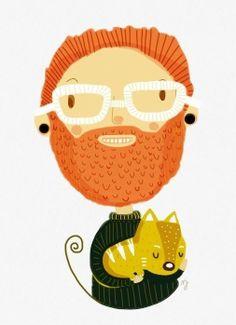 Gingers by MJ Da  Luz, via Behance