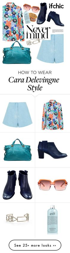"""Blue and Light-blue"" by ifchic on Polyvore"
