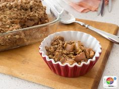 Fruit Crisp WhatsCooking.usda.gov #fruit #grains #MyPlate