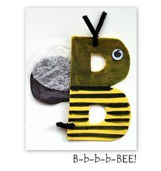 B is for Bee - Ideen für alle Buchstaben (in Englisch)