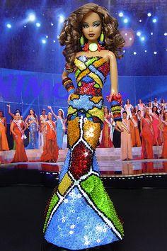 OOAK Barbie NiniMomo's Miss Northern Marianas Isles 2008
