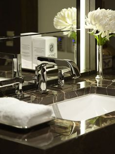 THG beluga faucet available at Fixtures & Fittings One Hyde Park