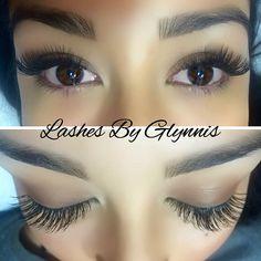 Lash extensions lashes eyelash extensions Lashes By Glynnis @glynnis_lyons Instagram lash artist