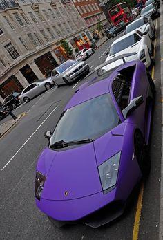 Treat Yo' Self to a purple lamborghini. #ParksandRec