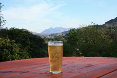 A Perfect Chilled Cider In Portree Isle Of Skye, Scotland