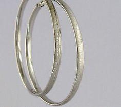 07f6e306796 hoop earrings 10k solid white gold versace greek design