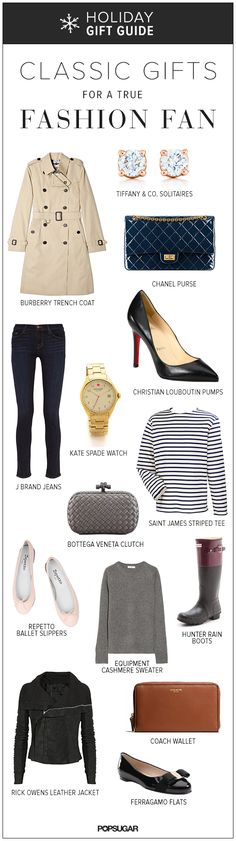@samszutkowski A wishlist with style: Classic Gifts For Any True Fashion Fan