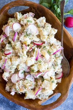 Salt and Vinegar Potato Salad-Main