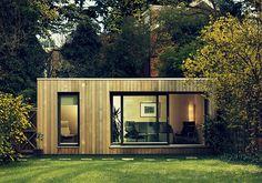 Small Prefab Homes - Prefab Cabins: Contemporary Modular Garden Studios by Ecospace