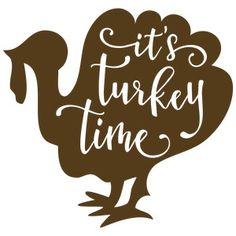 Silhouette Design Store: Its Turkey Time Turkey Phrase - Holiday Shirts - Ideas of Holiday Shirts - Silhouette Design Store: its turkey time turkey phrase Silhouette Design, Silhouette Cameo Projects, Vinyl Crafts, Vinyl Projects, Thanksgiving Signs, Turkey Time, Cricut Creations, Vinyl Designs, Fall Crafts