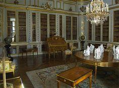 Versailles, interieur la bibliotheque | Images anciennes (enfants) (178)