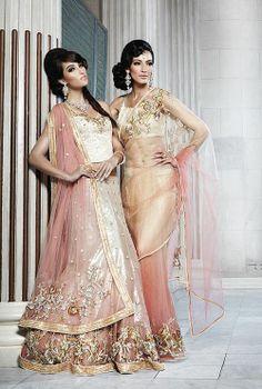 Like the lengha Punjabi Fashion, Bollywood Fashion, Asian Fashion, Bollywood Style, Ethnic Fashion, Indian Bridal Fashion, Indian Wedding Outfits, Indian Outfits, Sikh Wedding
