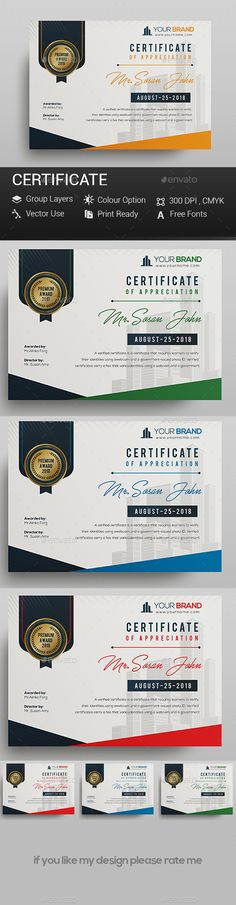#Certificate - Certificates Stationery