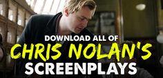 Christopher Nolan Screenplays, Christopher Nolan scripts, download screenplays, download scripts, reddit screenplays