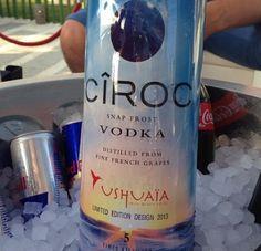 Ciroc vodka limited edition 2013 / Ibiza