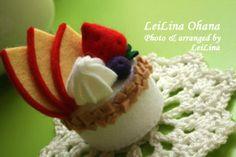 フエルトスイーツ・アップルベリーケーキ - LeiLina Ohana