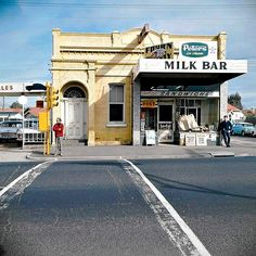 Milk Bar  Photo: Angus O'Callaghan.  Melbourne Australia.  Forty years ago Angus O'Callaghan chronicled the ordinary life of Melbourne, then his pictures were forgotten, consigned to a shoebox. Rediscovered they reveal a lost world, one that intrigues today's young collectors who are pushing prices for the prints higher and higher.