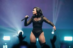 Demi Lovato Photos Photos - Demi Lovato performs during the '2016 Honda Civic Tour Featuring Demi Lovato & Nick Jonas: Future Now' tour at the Barclays Center on July 8, 2016 in New York City - Demi Lovato & Nick Jonas In Concert - Brooklyn, NY