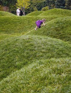 Idea Chicago Botanic Garden by Jacobs Ryan Associates in Chicago, United States Park Landscape, Garden Landscape Design, Landscape Architecture, Bell Gardens, Chicago Botanic Garden, Urban Nature, Natural Playground, Green Park, Backyard Landscaping