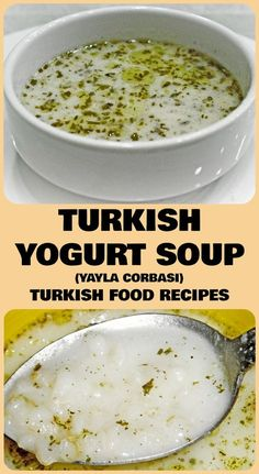 Turkish Yogurt Soup - Yayla Corbasi Recipe
