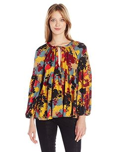 Rachel Pally Women's Rupert Top, Foilage, Large * Learn more by visiting the image link.