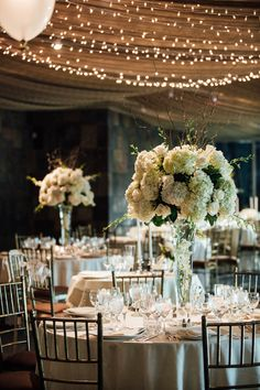 Sophisticated Wedding Tablescape - Esvy Photography