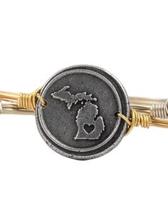 Luca + Danni State Love Bracelet from 318 boutique