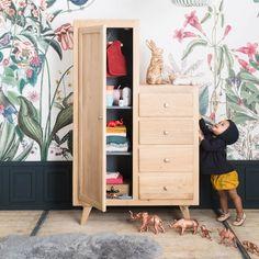 Asymmetrical st germain wardrobe naturel - storage furniture furniture - bonton 4