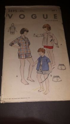 2695 Vogue Sewing Pattern