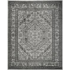 Safavieh Adirondack Silver/ Black Rug (9' x 12') | Overstock.com Shopping - Great Deals on Safavieh 7x9 - 10x14 Rugs