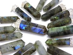 Labradorite Crystal is a stone of magic... It has within it a deeply felt resonance that is very powerful, It's vibration also holds a broad level of protection from negativity... so it cannot be used for ill will. This is a stone whose energy is quite visible to the user... as it just seems to work so quickly.  Wearing it just seems to charge you with a sense of excitement and adventure, to take the steps required to go where you have not gone before!