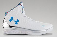 601493203bbf Under Armour Stephen Curry One Splash Party Size 14. dub nation steph mvp 1  2