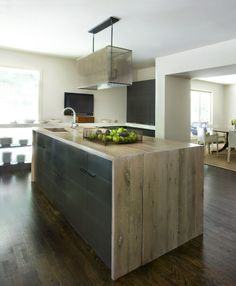 Natural Kitchen Island