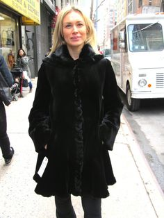 1 Year Old Midnight Black Dyed Sheared Mink 3/4 Coat (size: 6 – 8)    http://www.cowitfurs.com/fur-gallery/3-4-coats/page/2/