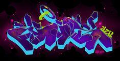 The Wiz, Graffiti, Neon Signs, Logos, Art, Art Background, Logo, Kunst, Performing Arts