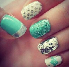 Green Sparkle design