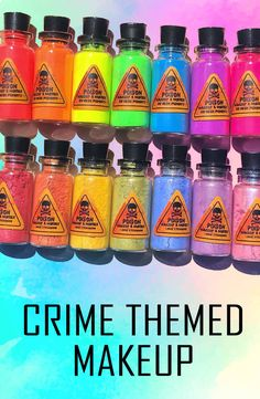 Crime, true and fictional, is a long entertainment obsession for people everywhere AND it is all about to move up a level as there is now a makeup brand which is crimed themed called Makeup a Murder. Click the link ('visit') to find out more! Indie Makeup, Makeup Geek, Dior Makeup, Skin Makeup, Aesthetic Makeup, Makeup Brands, Gorgeous Makeup, Natural Makeup, Cherub Tattoo