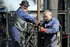 """Trevithick Day is Camborne's celebration of its most-famous son. The highlight is an impressively noisy and smelly parade of steam through the town's streets, involving dozens of traction engines, road-rollers and a full-size replica of Richard Trevithick's 1801 """"puffing devil"""" – the world's first motor car"""