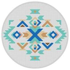 Modern cross stitch pattern Boho ornament Navajo pattern Geometric ornament…                                                                                                                                                                                 Mo