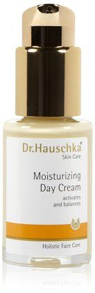 Dr. Hauschka Skin Care Moisturizing Day Cream. This line also has a Regenerating Day and Night cream that is fabulous!