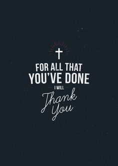 Thank you Lord for everything you have done! #Christian #Grace