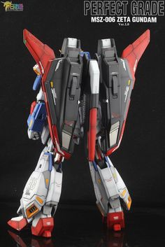 GUNDAM GUY: PG 1/60 MSZ-006 Zeta Gundam Ver.1.0 - Customized Build