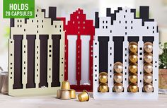 Scoopon Deals | City Skyline Metal Capsule Holder in 3 Colours, Just $25 Delivered!