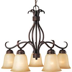Pyramid Creations�5-Light Basix Oil-Rubbed Bronze Chandelier