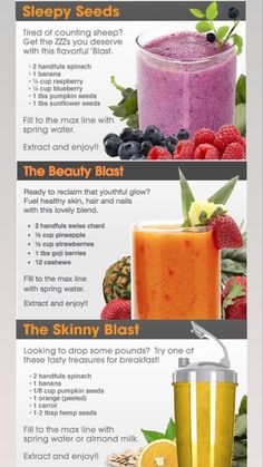 Protein Smoothie Recipes, Nutribullet Recipes, Fruit Smoothies, Healthy Smoothies, Healthy Drinks, Making Smoothies, Homemade Smoothies, Blender Recipes, Shake Recipes