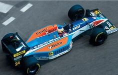 Minardi Scuderia italian No.24 Michele ALBORETO MINARDI M193B Ford Cosworth HB NA3.5L V8 Goodyear