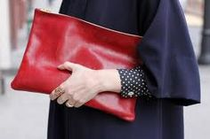 Oversized clutch from American Apparel. I love Red accessories. Red Clutch, Leather Clutch, Fashion Bags, Womens Fashion, Ladies Fashion, Fall Fashion, Oversized Clutch, Red Accessories, Red Bags