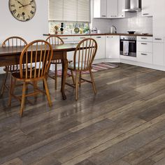 """Introducing the newest innovation in vinyl flooring! Allure ISOCORE features a highly-engineered closed-cell foamed PVC core that delivers ridigity and strength, yet is light weight and easy to handle and install.  Three interchangeable plank widths (4"""", 6"""", and 10"""") are included in each box to create a truly authentic wood look. Would you install this flooring in your home?"""